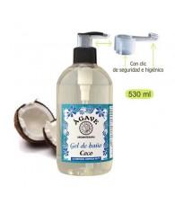 Gel Coco 265  ml. - Agave