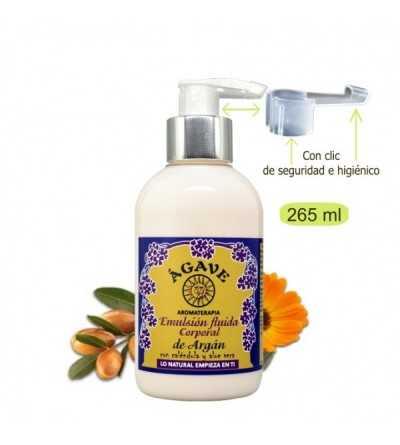 Emulsión Fluida Argan 250 ml. - Agave