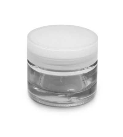 Tarro Crema Cristal Transparente 50 ml.