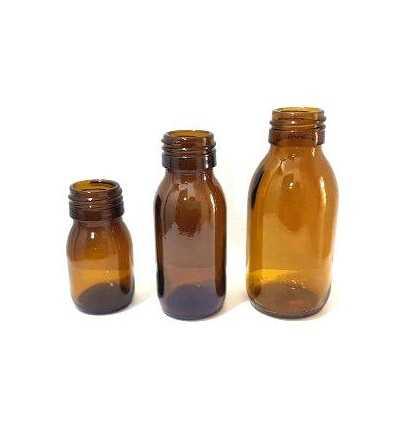 Frasco DIN28 -  030-060-100 ml.
