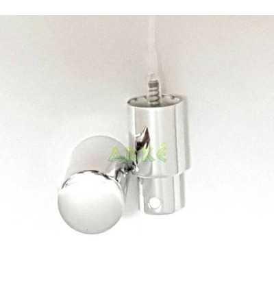 Pulsador Spray DIN18 Oro, Plata, Rojo o Negro Metalizado