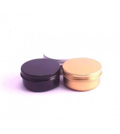 Tarro Aluminio Color 50 ml.