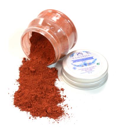 Colorante Mineral Rojo 10 gr.