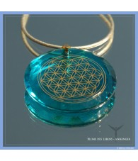 Flower of Life Pendant -...