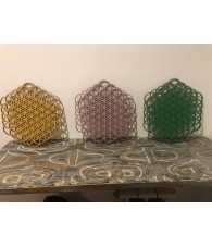 Flower of Life wood 15 cm.