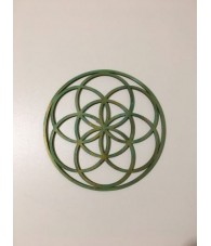 Wood Seed Flower of Life 12...