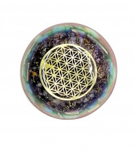 Orgonite Flower of Life Flat