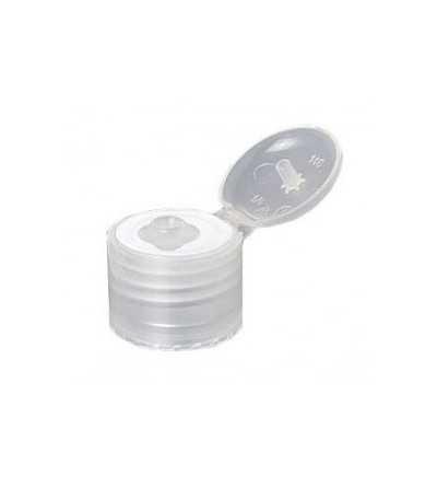 Tapon Bisagra PET Transparente DIN18