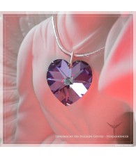 "Heart pendant - ""Power of..."
