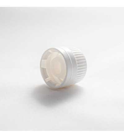 White or Black Dropper Bottle Stopper DIN28