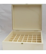 Wooden Box Jars 15 ml.