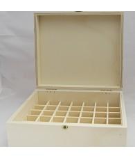 Caja Madera Frascos 15 ml.