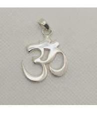 Ohm Silver Pendant