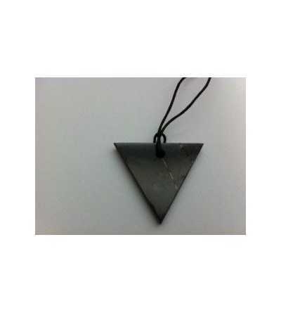 Colgante Shungit Triángular