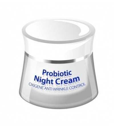 Crema Antiarrugas de Noche con Probioticos