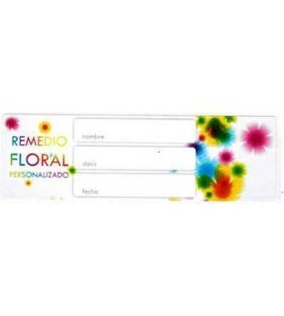 """Etiquetas para Preparados Florales """"Flores"""""""