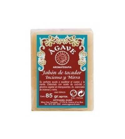 Jabon Pastilla Incienso y Mirra 85 gr.