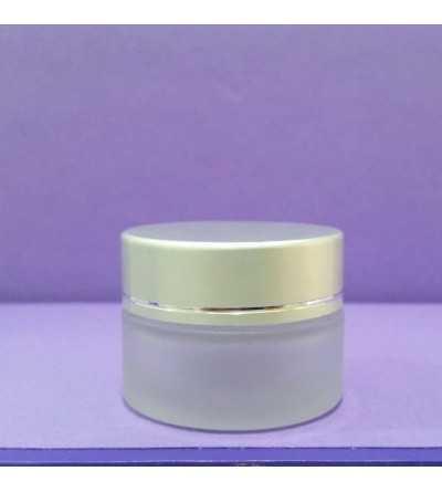 Tarro Crema Cristal 15 ml. Plata