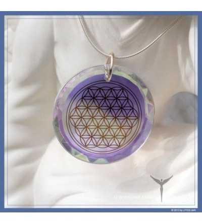 Medallón Flor de la Vida Diamante