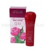 Body Milk Rosa Bulgaria con Q10