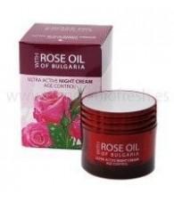 Crema Nutritiva de Noche Rosa Bulgaria 50 ml..