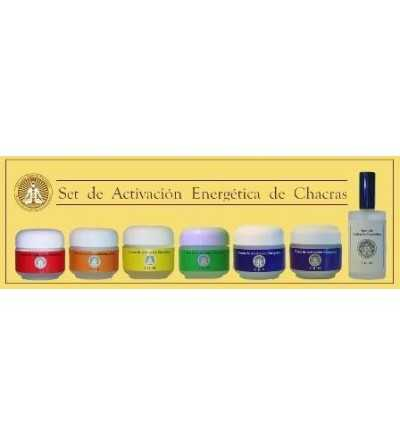 Set Activación Chakras Cremas 15/50 ml.