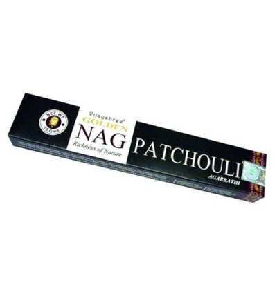 Incienso Golden Nag Pachuli