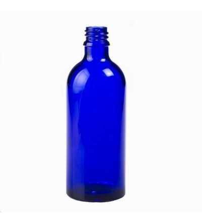 Frasco DIN18 Azul - 100 ml. - Blister 70 unidades